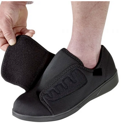 Extra Wide Antimicrobial Shoes.  Mens