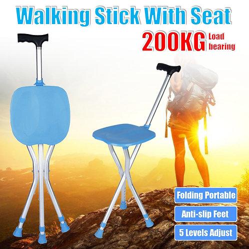 Potable Walking  Stick with seat
