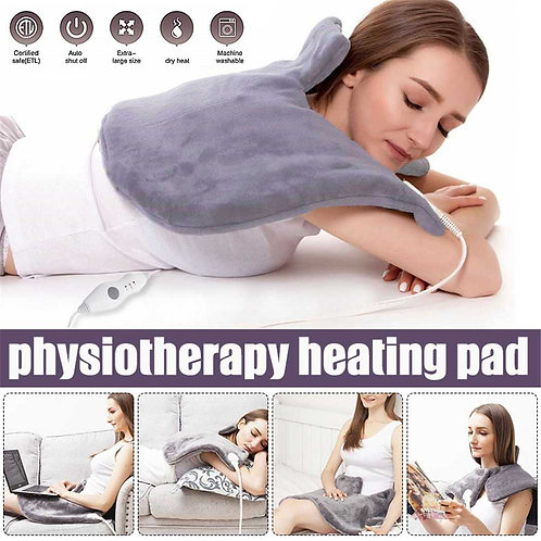 Electric Physiotherapy Heating Blanket Fast Relief Pain & Muscle  Relaxation