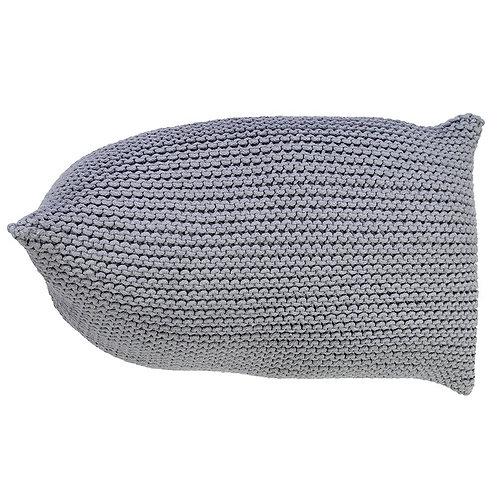 Handmade Knitted Beanbag | Glacier Gray