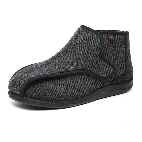 Men's Slippers for Patients with Diabetes, Arthritis, Edema & Swollen feet.