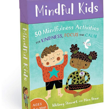 Mindfulness Activity Cards for ages 4 -104