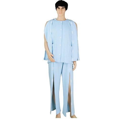 Incontinence aid tops / pants for bedridden men