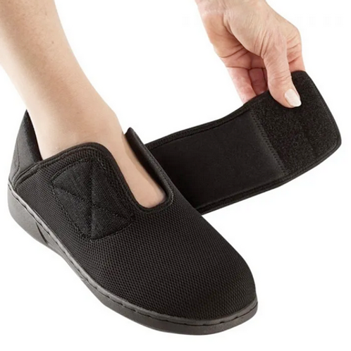 Antimicrobial Extra Wide Comfort Steps Shoes. Women
