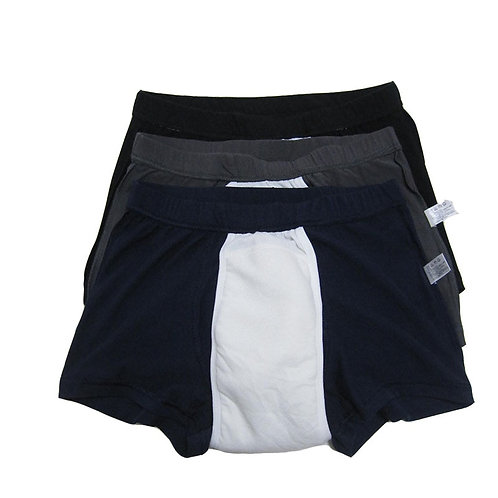 3-Pack Men's, Boxer shorts suitable for mild urinary incontinence