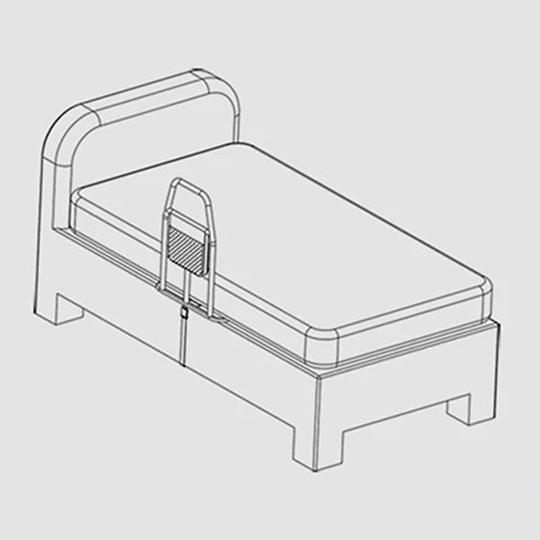 Bed Rail for raising up support