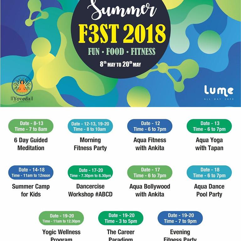 Summer F3st 2018