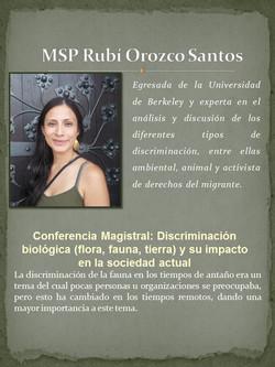 MSP. Rubi Orozco Santos