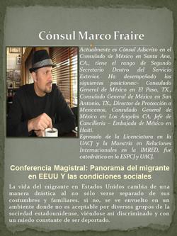 Cónsul Marco Fraire
