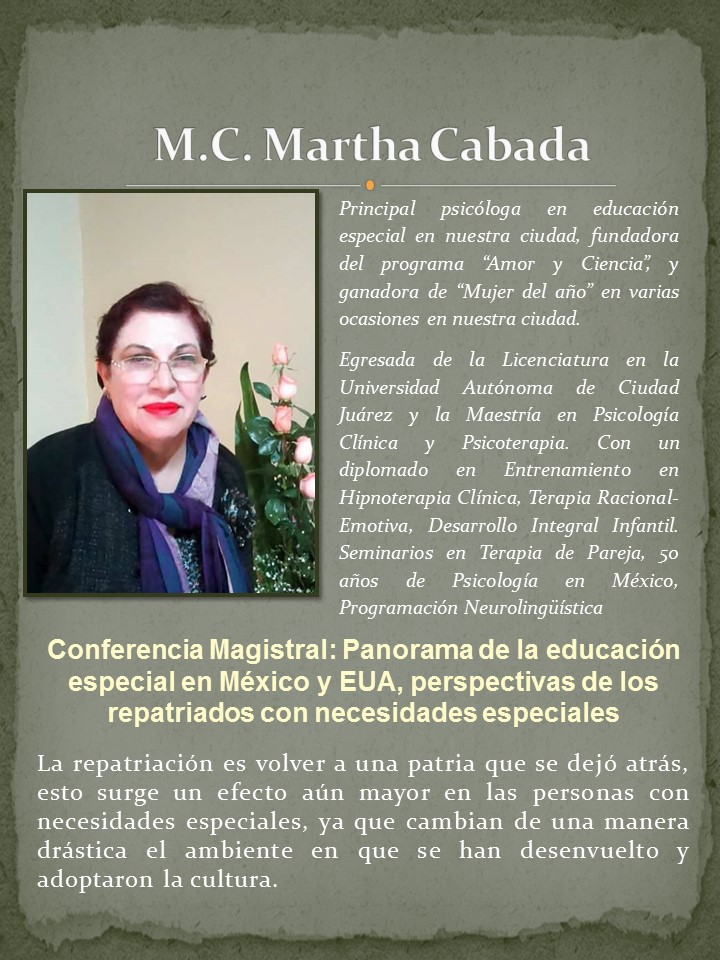 M.C Martha Cabada