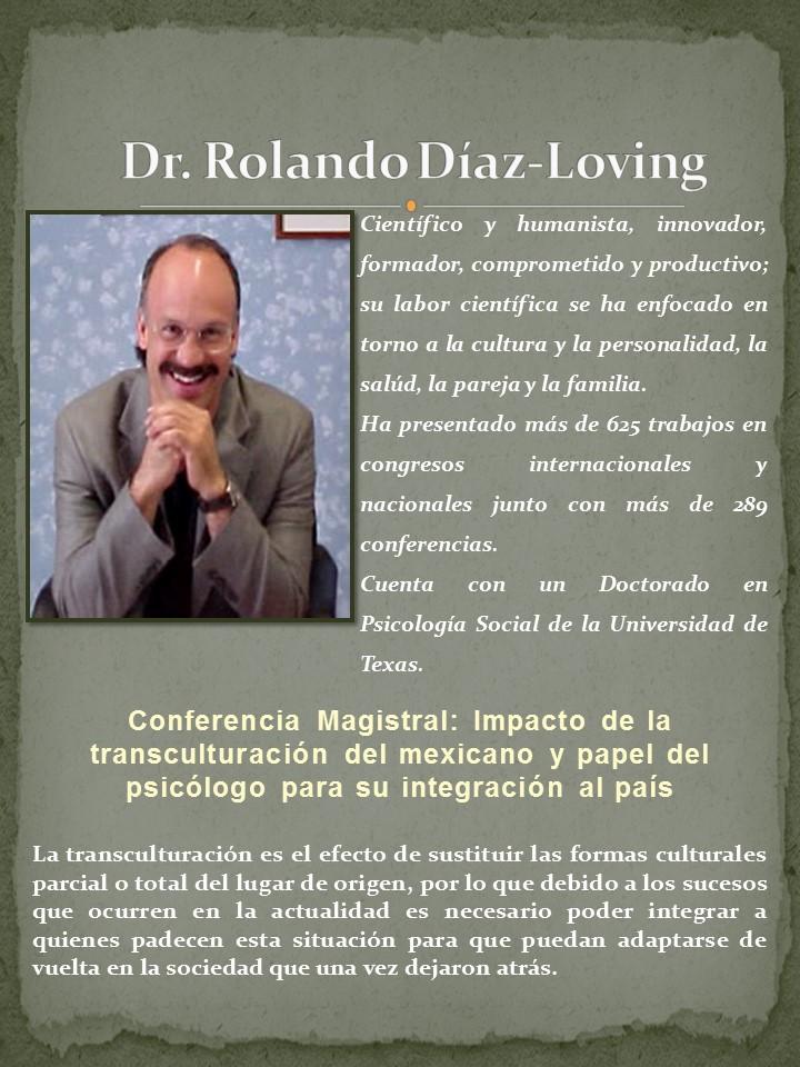 Dr. Rolando Diaz Loving