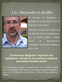 Lic. Alejandro Calvillo