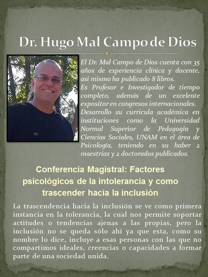Dr. Hugo Mal Campo De Dios