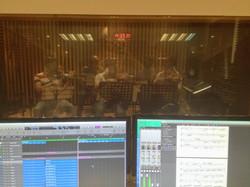 strings session at ksound studio