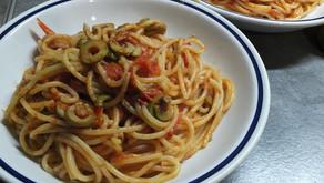 做法: Pasta alla puttanesca