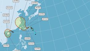 Il Tifone In-Fa sfiorerà Nuova Taipei,non desta preoccupazione ma attenzione a forte pioggia e venti
