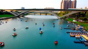 """Taipei, gita a Xindian-Bitan letteralmente il """"Lago Verde"""""""
