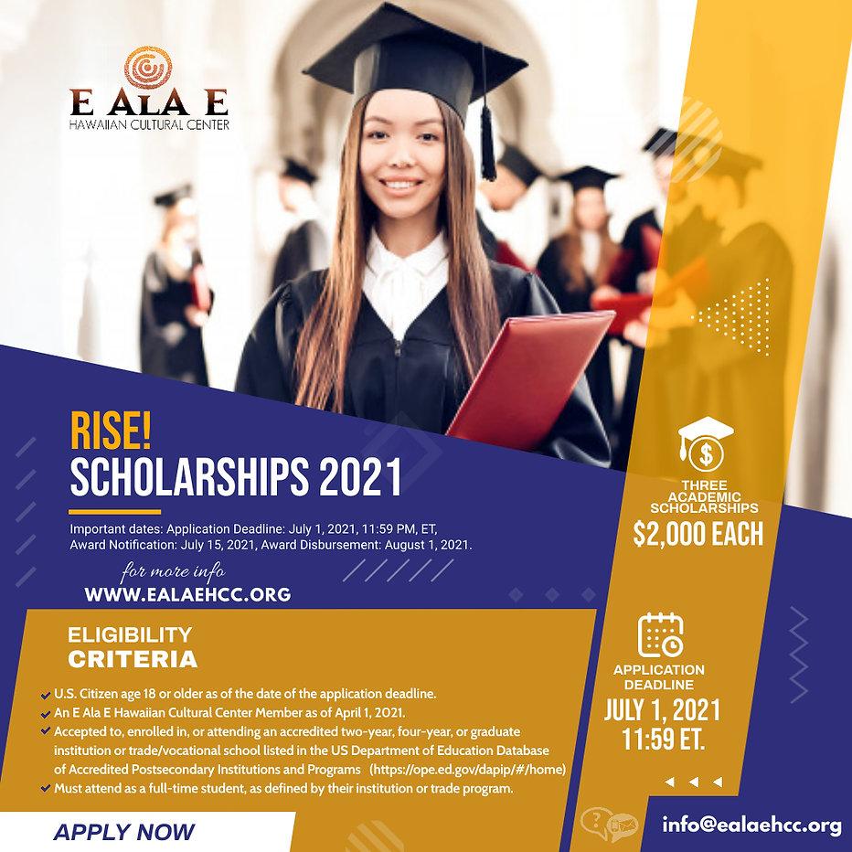 Copy of Scholarship Program Advert - Mad