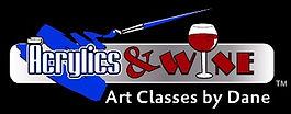 Acrylics & Wine Art Classes by Dane