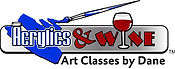Acrylics & Wine party painting classes art and wine pARTy Indianapolis