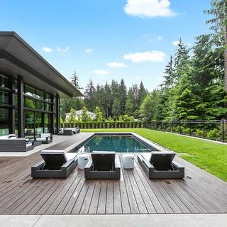 Woodland Pool Deck