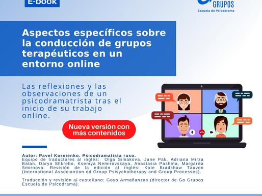 (Actualizado) Aspectos específicos sobre la conducción de grupos terapéuticos en un entorno online