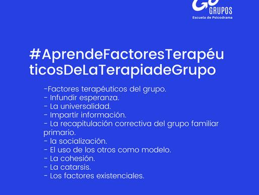 #AprendeFactoresTerapéuticosDeLaTerapiadeGrupo