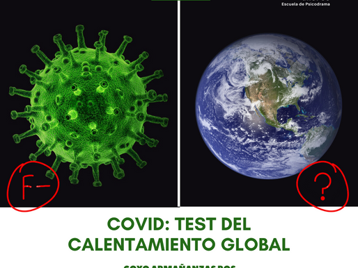 Covid: test del calentamiento global