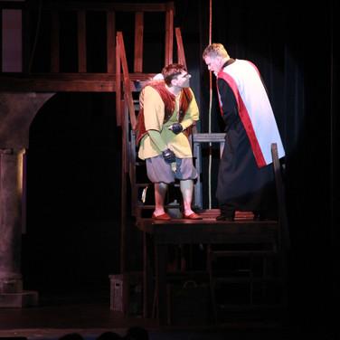 Quasimodo and Dom Frollo