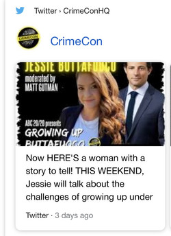 Crime Con Twitter Promo
