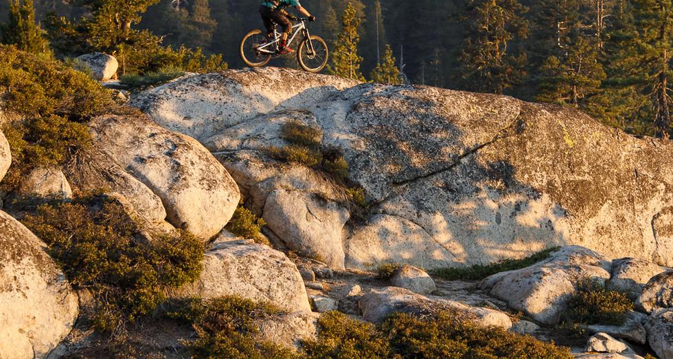 Above the Granite Slab Trail