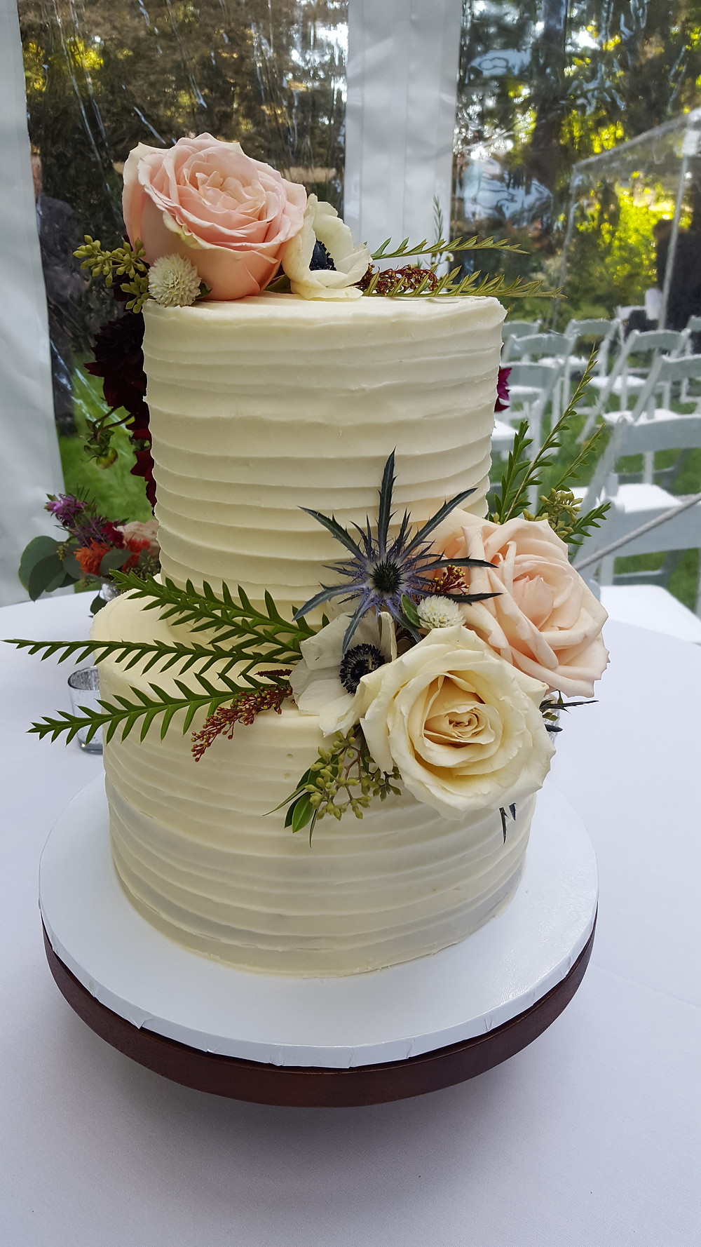Wedding Cake by Haute Cakes. Music by Rondo String Quartet. www.RondoStringQuartet.com