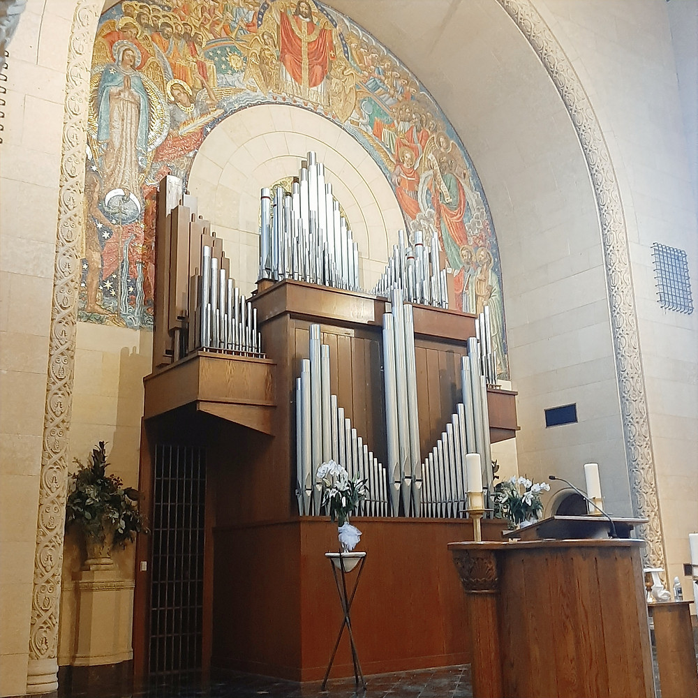 Organ at the Inn at St. Johns. Other music by Rondo String Quartet. www.RondoStringQuartet.com