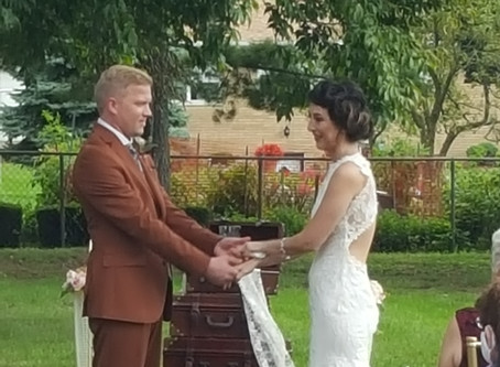 Wedding Videographers Exchange Vows