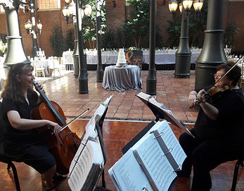Rondo String Quartet at the Inn at St. John's