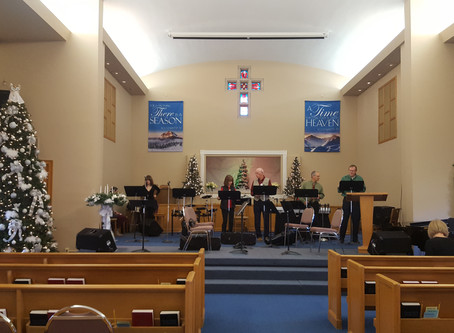 First Baptist of Howell Reflects       Love's Pure Light at Christmas!