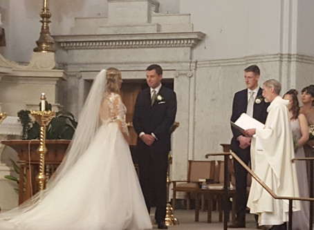 Emily and Peter Celebrate Nuptials at Historic Downtown Church