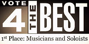 Vote 4 the Best 1st Place Musicians and Soloists