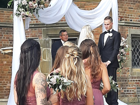 Crystal and Brad Tie the Knot on a Summer Day!