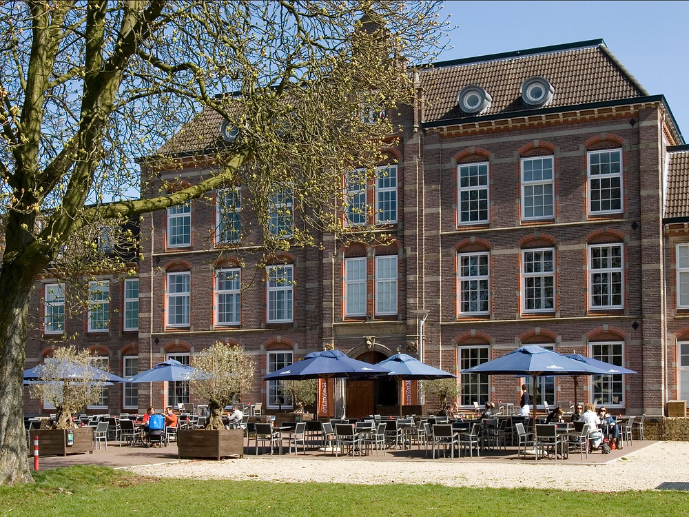 A beautiful terrace overlooking Amsterdam for all of those who are bored during the lockdown