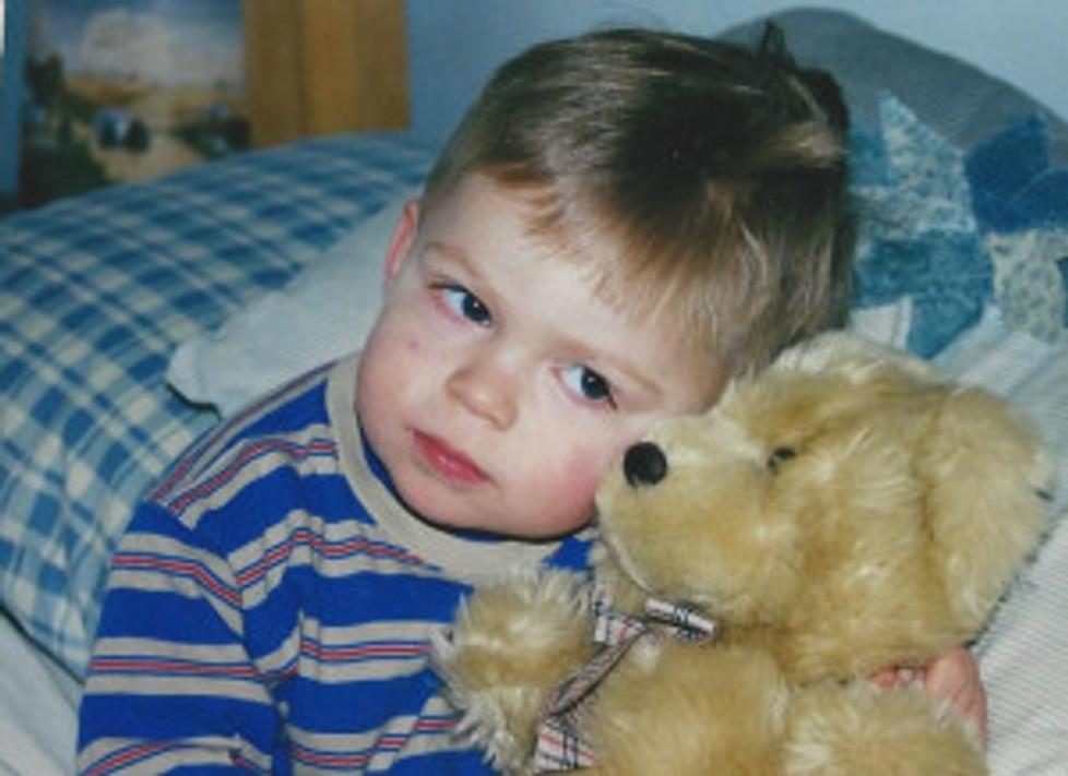 Sam and Teddy 18 months