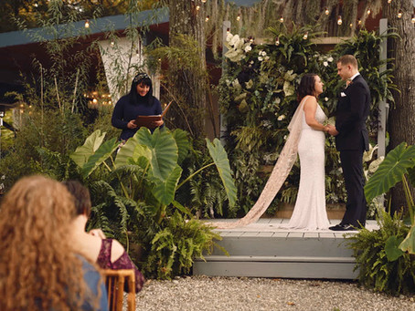 It was a dream come true! Alina + Kyle (Promise Ridge - micro Wedding Venue)
