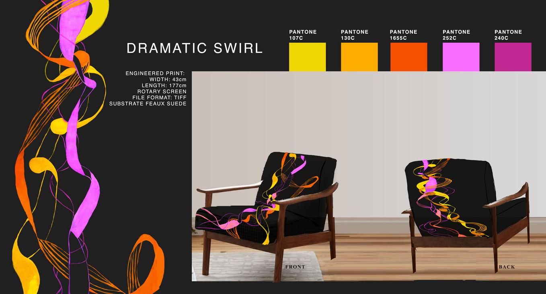 Dramatic Swirl Illustration