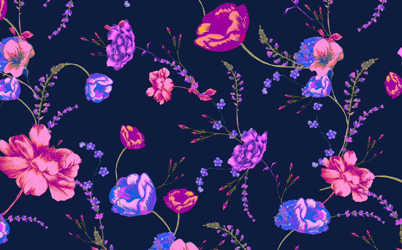 Midnight Garden - Violet