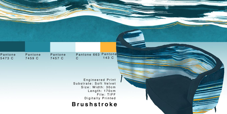 Brushstroke Illustration