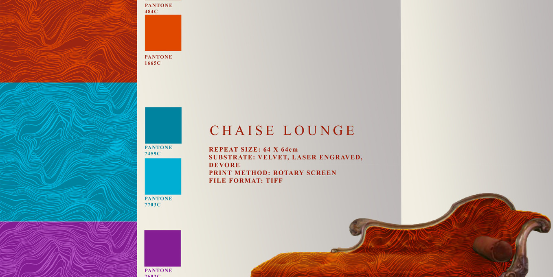 Chaise Lounge Illustration