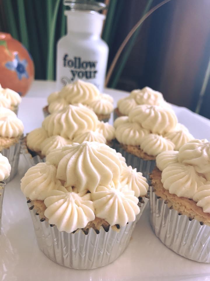 lilikoi cupcakes