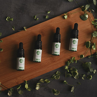 CBD Still Life Vine Product Photography.