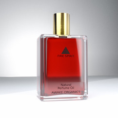 Perfume Fire Spirit Product Photography