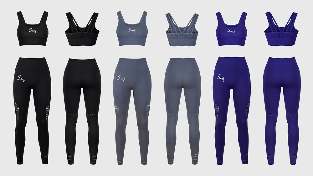 3d clothing photography and activewear in Manchester - One North Studio
